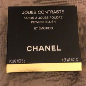 "Rare Chanel Blush ""Emotion"" 87"